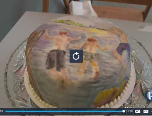 Susan Gautheir Cake Art Featured on The 207 Show